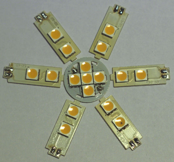 And these are the 7 LED boards.