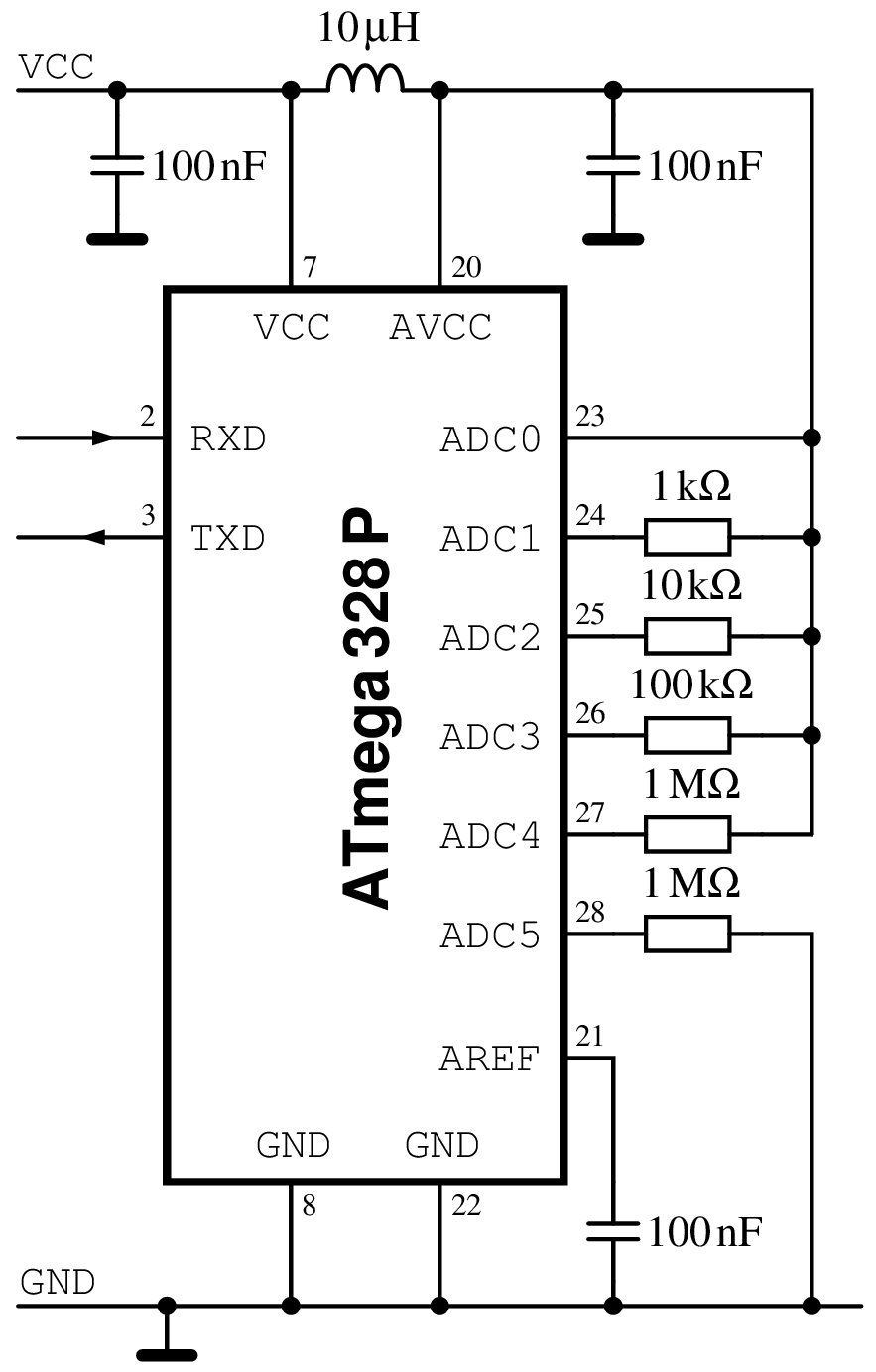 atmega328p  u2013 measuring its own supply voltage iii