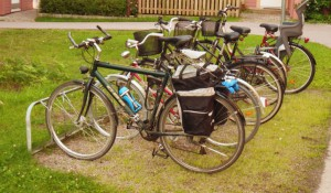 The geocycle - packed and ready to start!