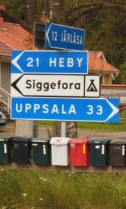 Back to Uppsala?