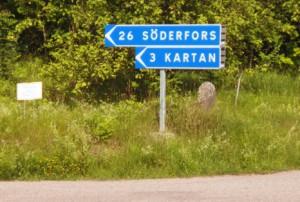 Towards Söderfors!