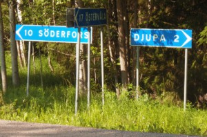 Ten more kilometers to Söderfors.