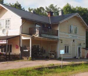 Söderfors train station - now a pizzeria.