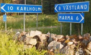 From Marma to Västland.